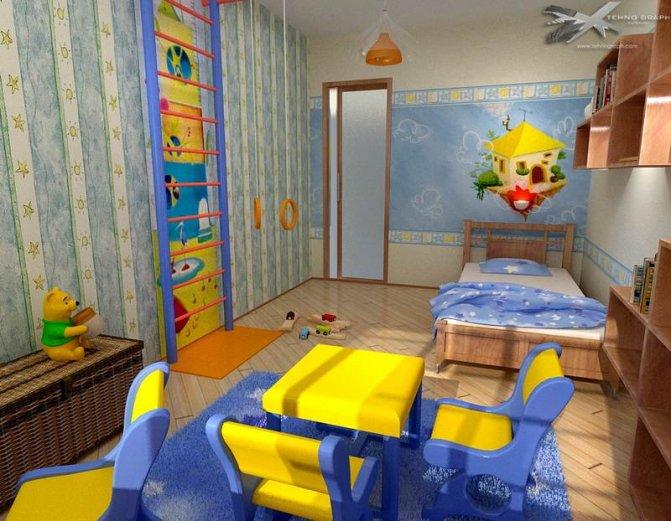Ремонт дитяча кімната дизайн