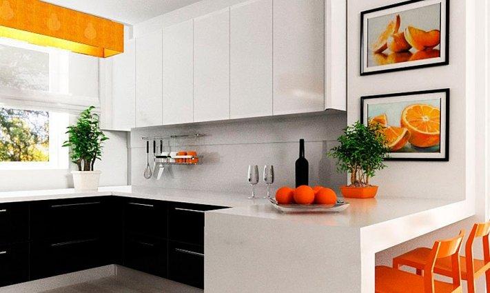Ремонт маленьких кухонь фото