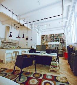 Інтер'єр квартири студії
