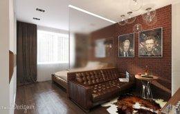 Проект однокімнатної квартири