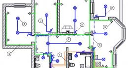 Проект-схема електропроводки