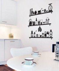 Прості наклейки здатні прекрасно оновити кухню