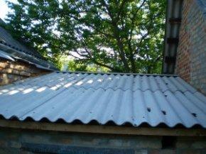 Ремонт даху гаража