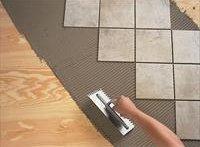 Укладання керамічної плитки на дерев'яну підлогу